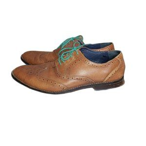 HUSH PUPPIES leather dress shoes size 9.5